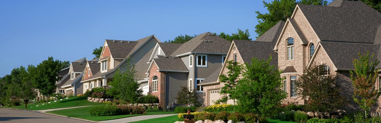 Como são as casas nos Estados Unidos?